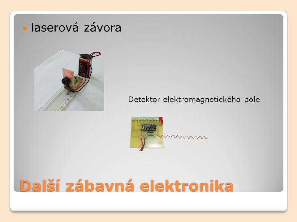 Další zábavná elektronika laserová závora Detektor elektromagnetického pole
