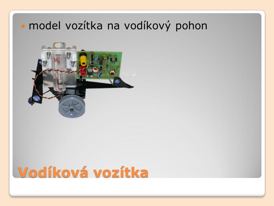 Vodíková vozítka model vozítka na vodíkový pohon