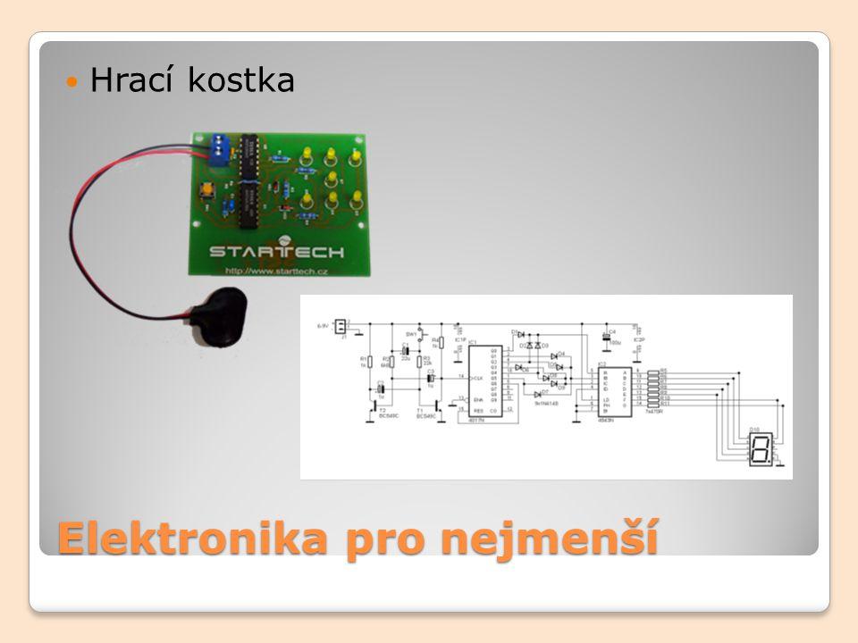 Elektronika pro nejmenší Hrací kostka