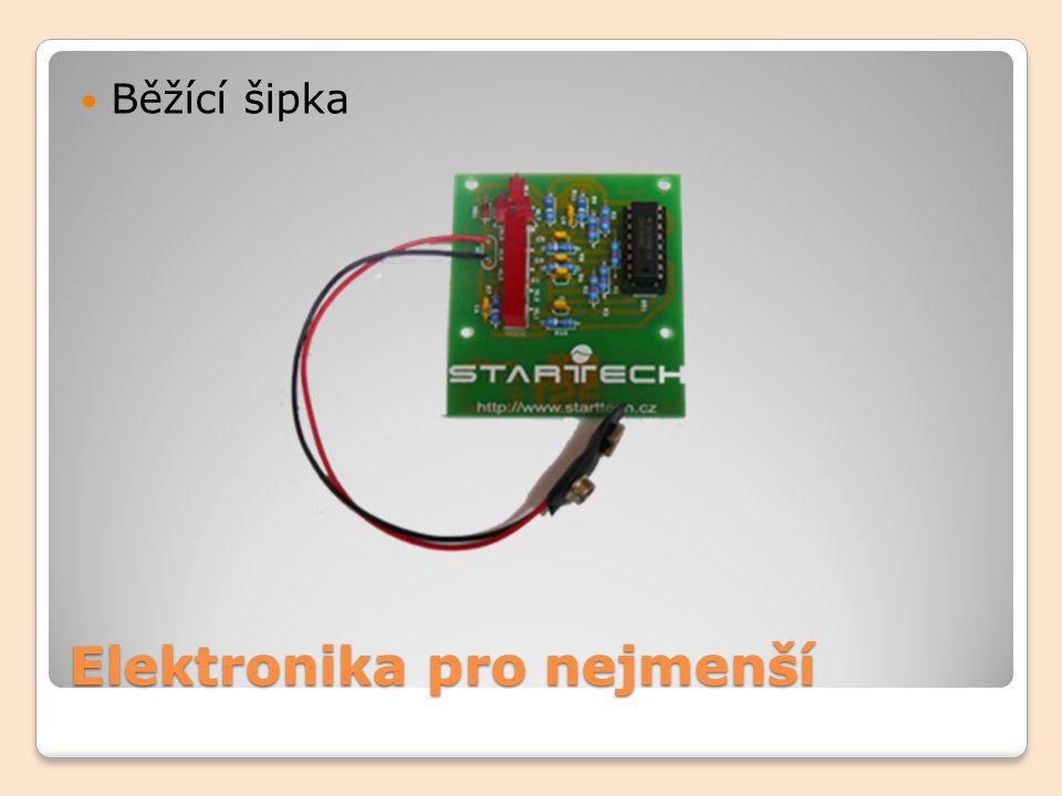 Elektronika pro nejmenší Běžící šipka