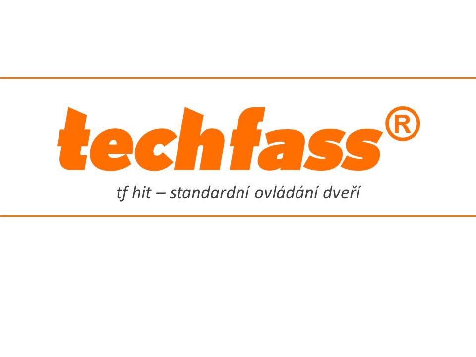 TECH FASS s.r.o., Věštínská 1611/19, Praha, Česká republika, hit@techfass.cz, hit.techfass.cz #17/21 Parametry konfigurovatelní v programu HiT.Access – vyžadováno systémové zapojení -Hardwarová adresa: 1 ÷ 32 – identifikace čtečky na komunikační lince -Doba uvolnění zámku: 0 ÷ 255 sekund -Ovládání zámku: přímé / reverzní – definuje polaritu výstupu pro ovládání dveřního zámku (vyžadována pro možnost připojení reverzních zámků) -Funkce druhého vstupu: žádná / odchozí tlačítko -Signalizovat uvolnění zámku akusticky: ano / ne Konfigurovatelné parametry a standardní zapojení Standardní zapojení čtečky -Napájení (vyžadováno) -Výstup: ovládání dveřního zámku (vyžadováno) -Vstup 1: sledování kontaktu dveří (volitelné) -Vstup 2: odchozí tlačítko (volitelné) -Sběrnice RS 485: připojení ke sběrnici systému tf hit (volitelné) -Rozhraní WIEGAND: ovládání modulu AUX-WO (volitelné)
