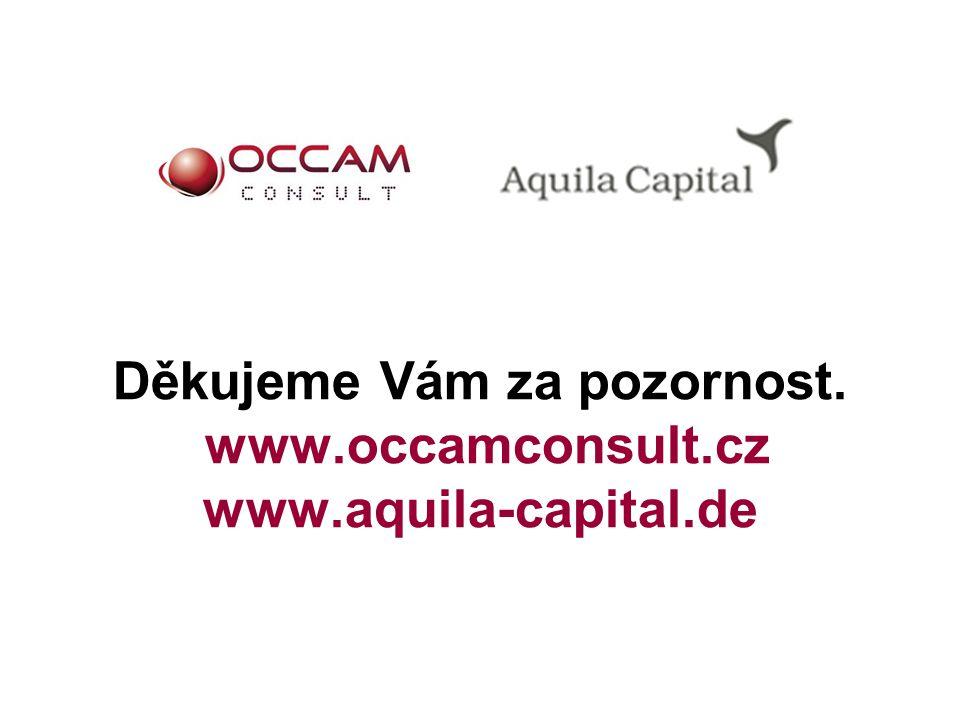 Děkujeme Vám za pozornost. www.occamconsult.cz www.aquila-capital.de