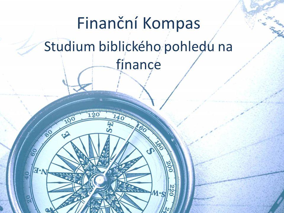 De Compass Course Finanční Kompas Studium biblického pohledu na finance