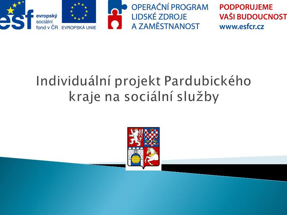 Individuální projekt Pardubického kraje na sociální služby