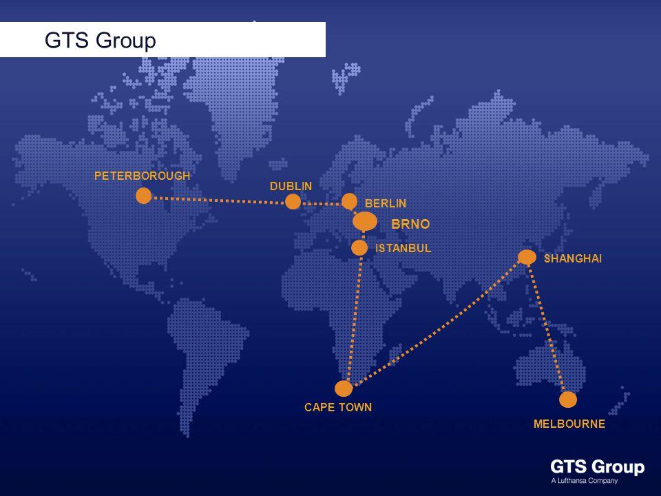 8 zákazníků 50+ zemí 24 jazyků Globální pokrytí GTS Group Worldwide GTS Group Status: 2014