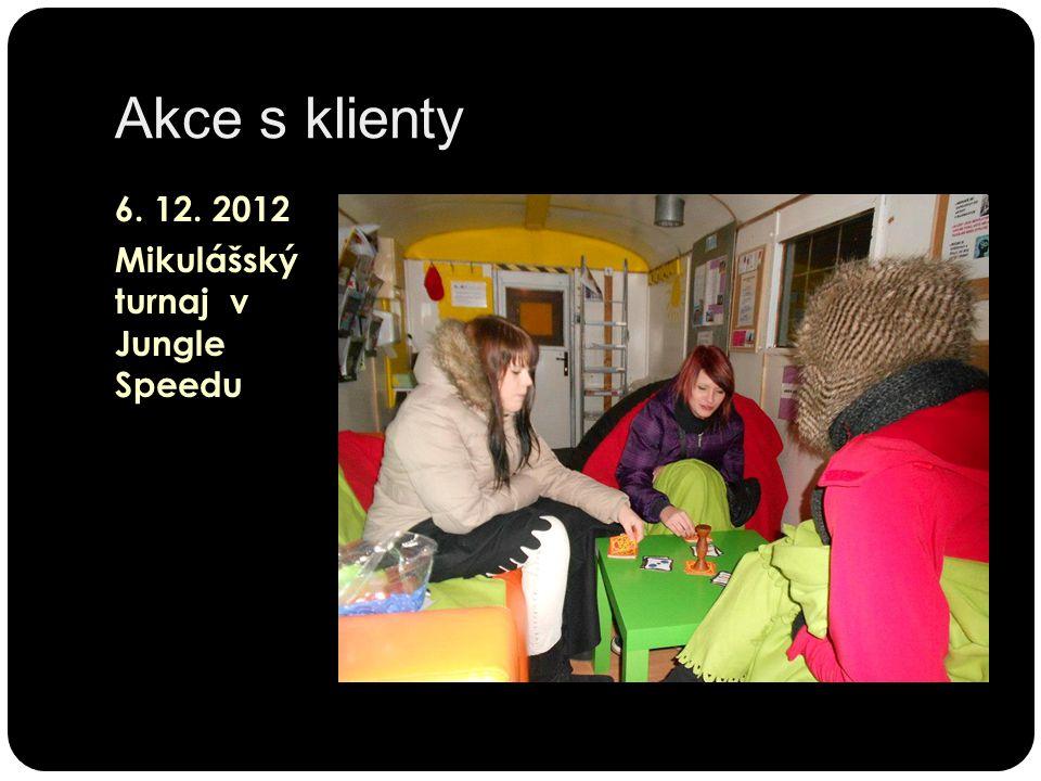 Akce s klienty 6. 12. 2012 Mikulášský turnaj v Jungle Speedu