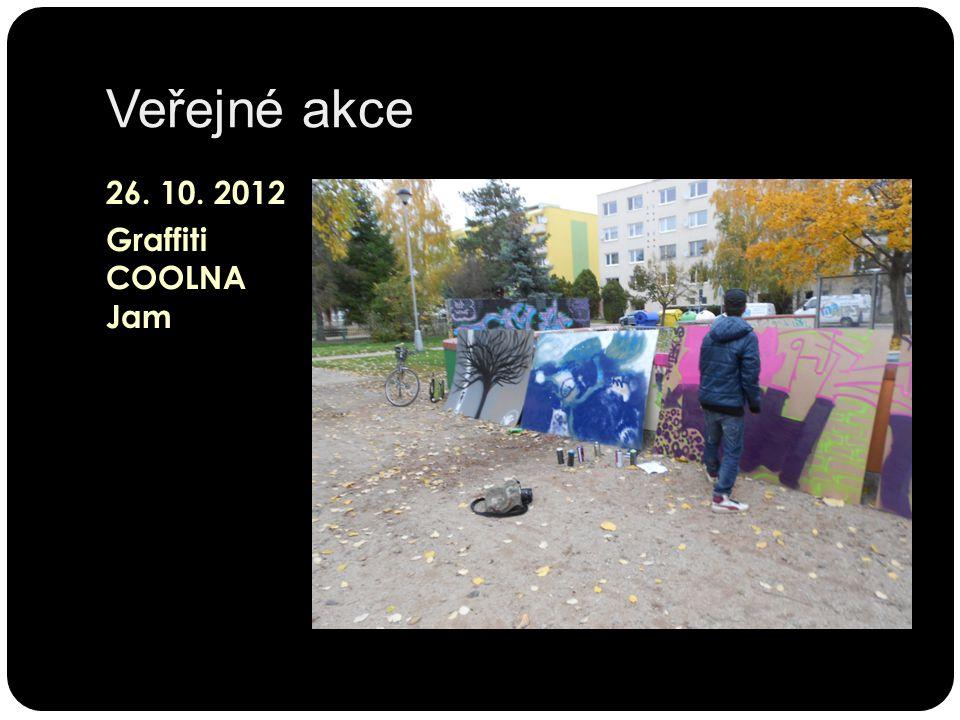 Veřejné akce 26. 10. 2012 Graffiti COOLNA Jam
