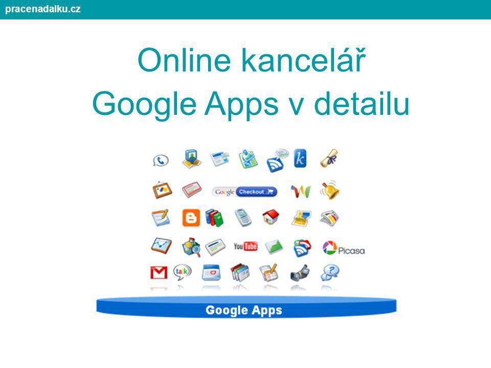 Online kancelář Google Apps v detailu pracenadalku.cz