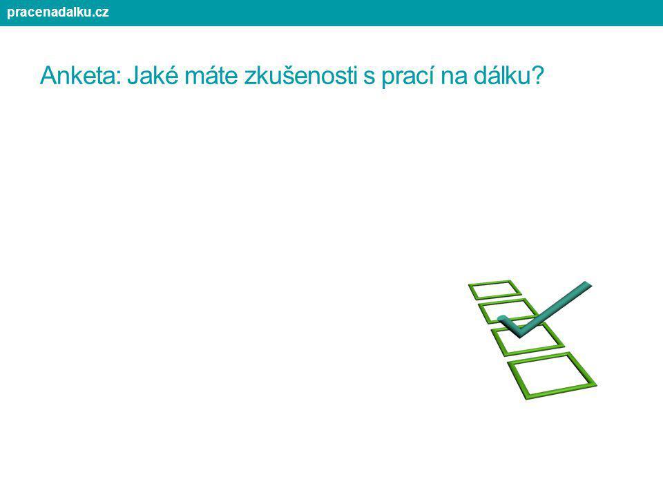 pracenadalku.cz Anketa č. 1: Jaký je váš současný pracovní stav? Anketa: Jaké máte zkušenosti s prací na dálku?