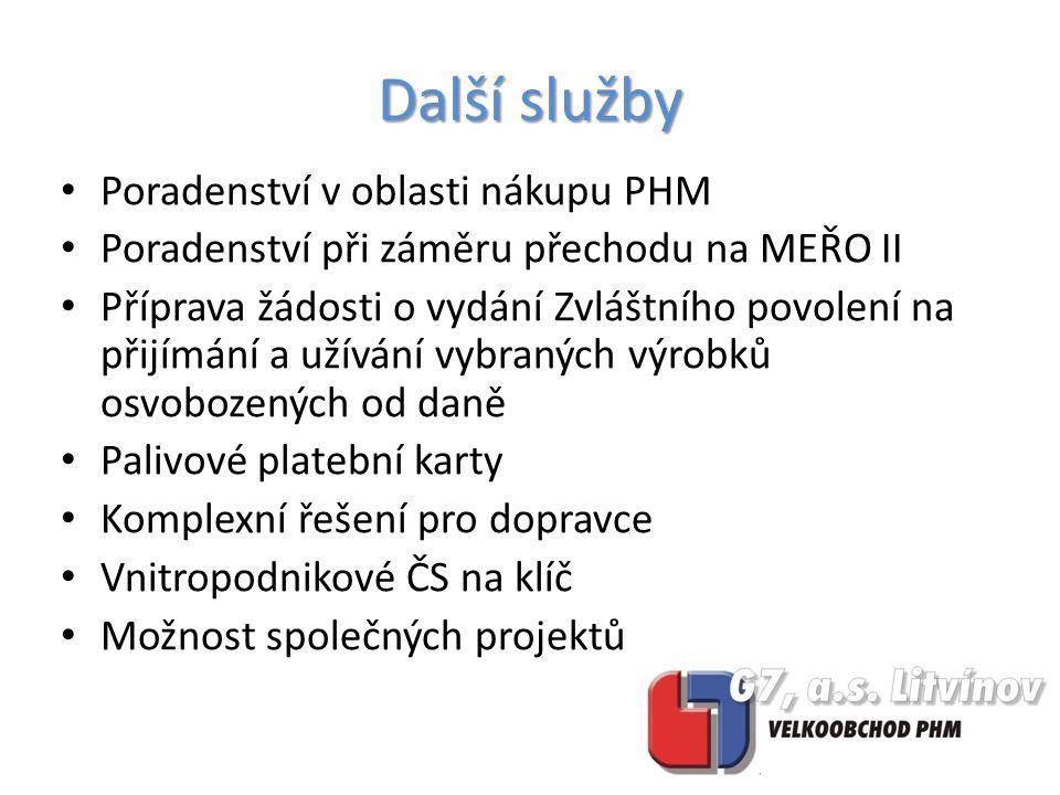 Matimex spol.s r.o. Petrol Plzeň s.r.o. Technické služby Benešov, s.r.o.