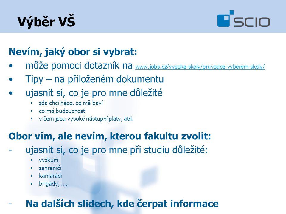 Nevím, jaký obor si vybrat: může pomoci dotazník na www.jobs.cz/vysoke-skoly/pruvodce-vyberem-skoly/ www.jobs.cz/vysoke-skoly/pruvodce-vyberem-skoly/