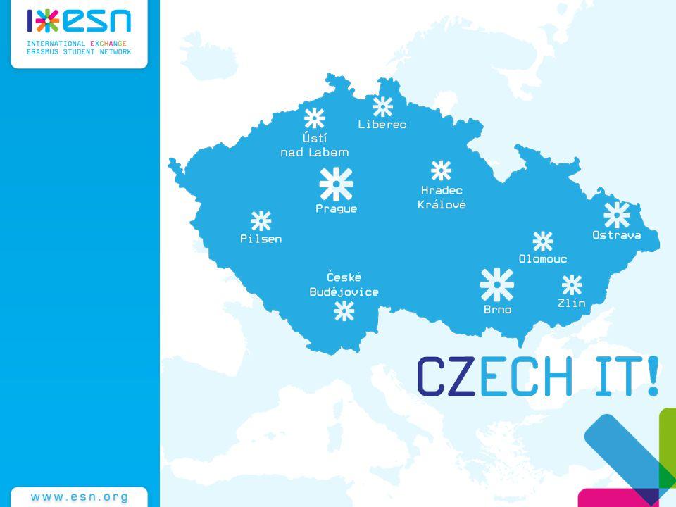 ISC Ústí nad Labem (International Student Club) Založen 2013 ESN Usti Od 28.