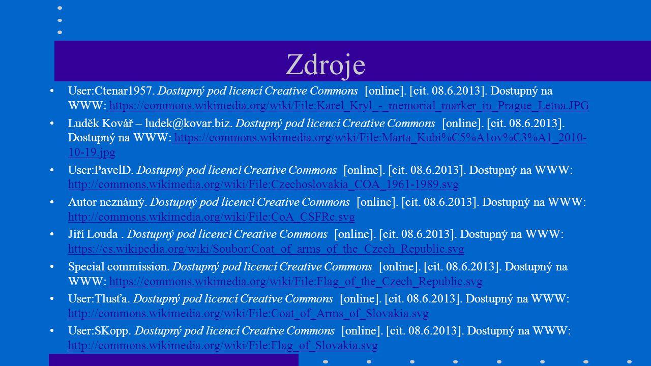 Zdroje User:Ctenar1957. Dostupný pod licencí Creative Commons [online]. [cit. 08.6.2013]. Dostupný na WWW: https://commons.wikimedia.org/wiki/File:Kar