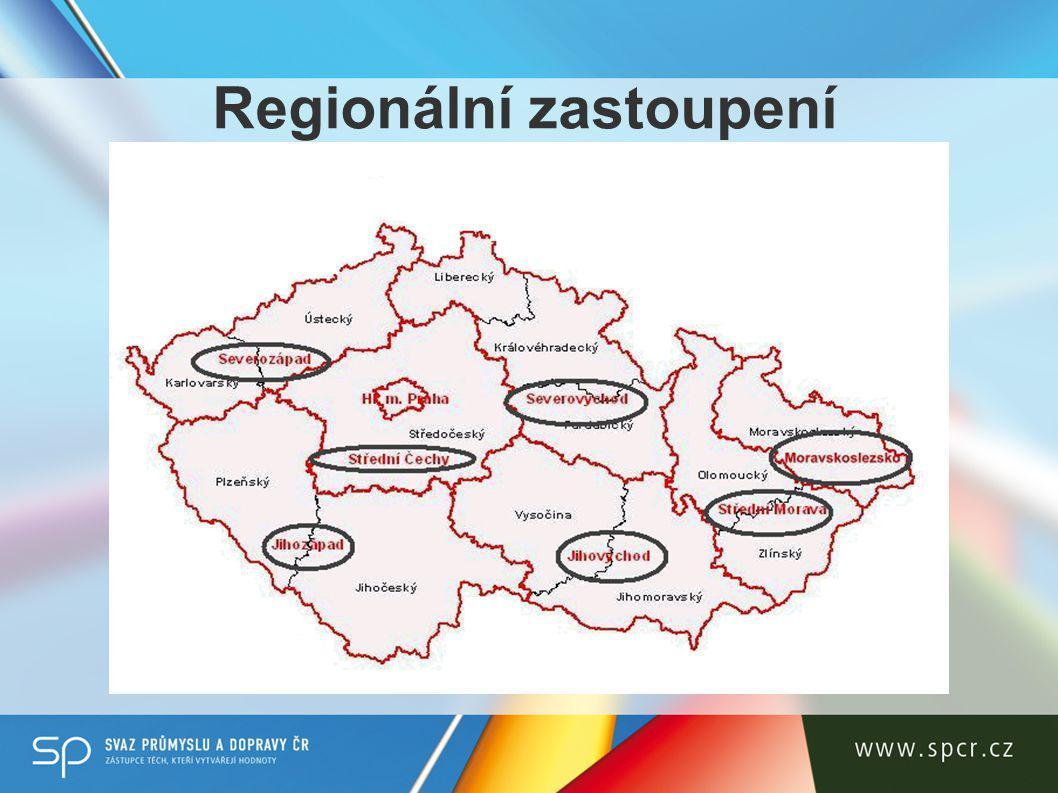 Regionální zastoupení