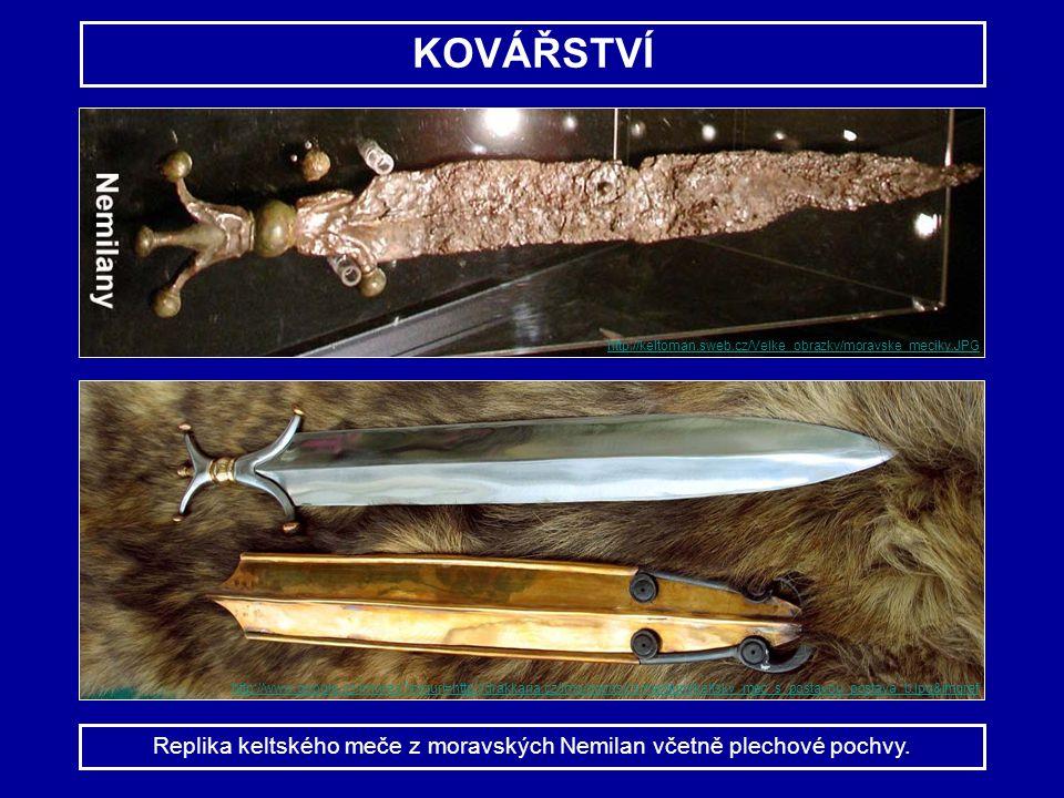 KOVÁŘSTVÍ Replika keltského meče z moravských Nemilan včetně plechové pochvy. http://www.google.cz/imgres?imgurl=http://drakkaria.cz/img/goods/cs/medi