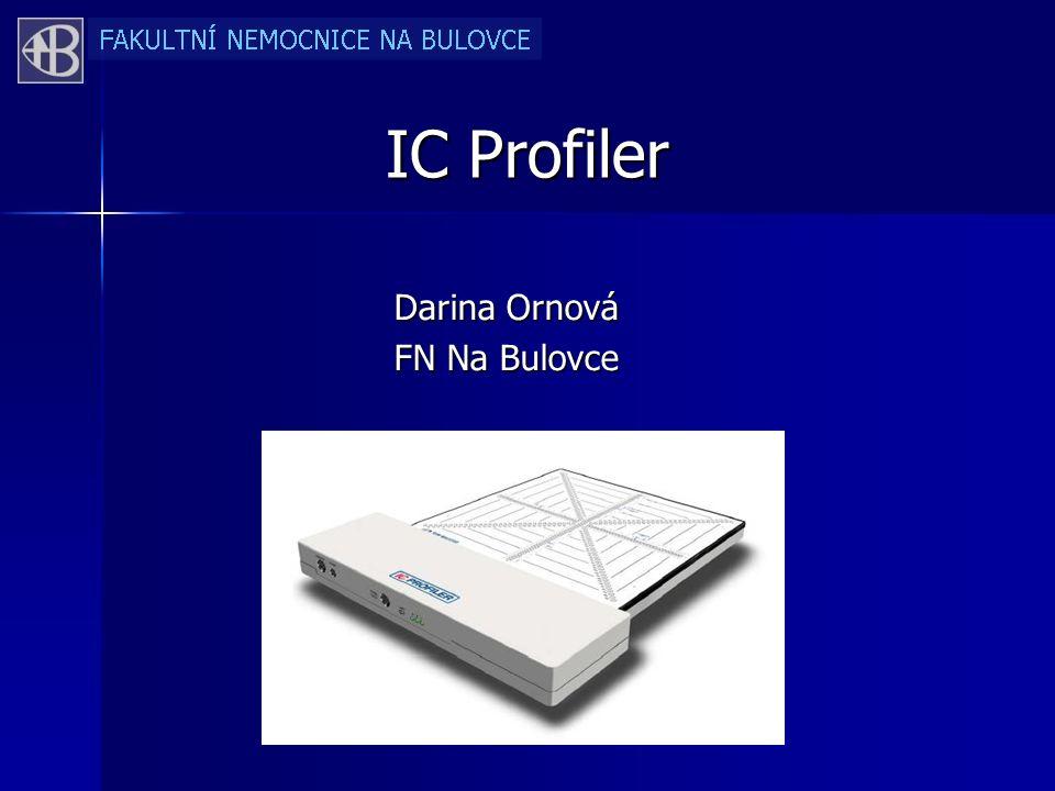 IC Profiler Darina Ornová FN Na Bulovce