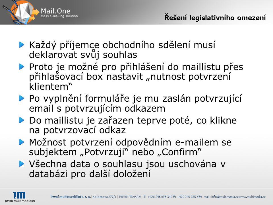První multimediální s. r.