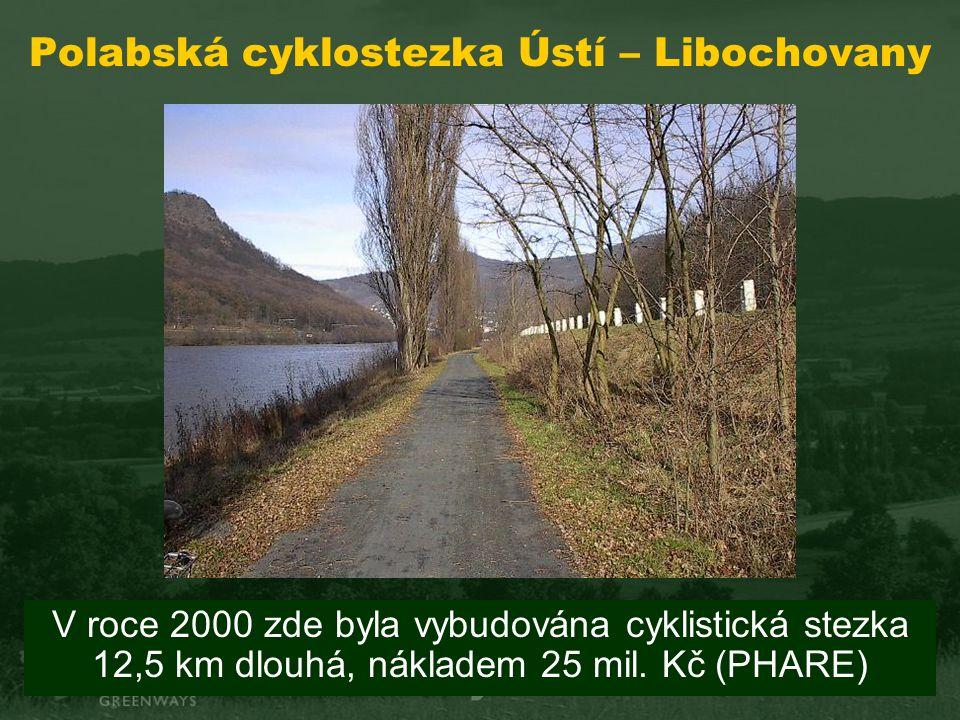 Polabská cyklostezka Ústí – Libochovany V roce 2000 zde byla vybudována cyklistická stezka 12,5 km dlouhá, nákladem 25 mil.