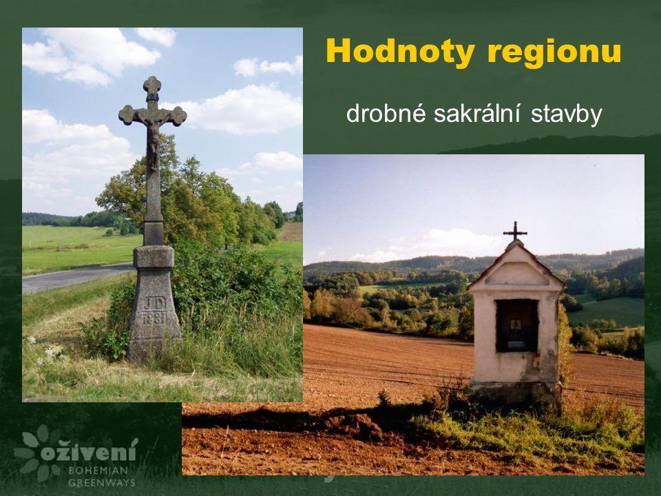 Hodnoty regionu drobné sakrální stavby