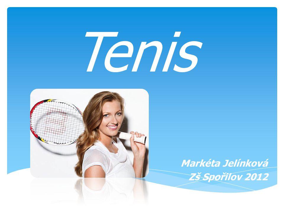 Tenis Markéta Jelínková Zš Spořilov 2012