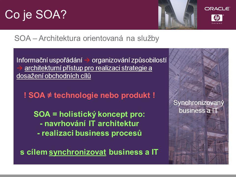 Co je SOA.