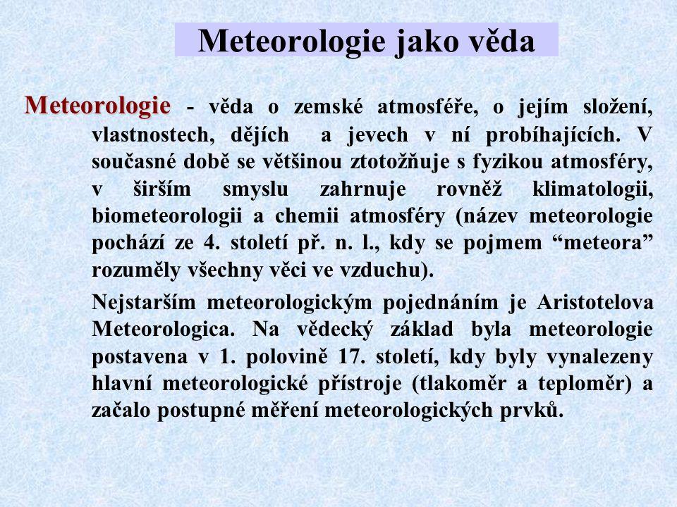 Mezosféra Je vrstva přibližně od 50 do 80 km.