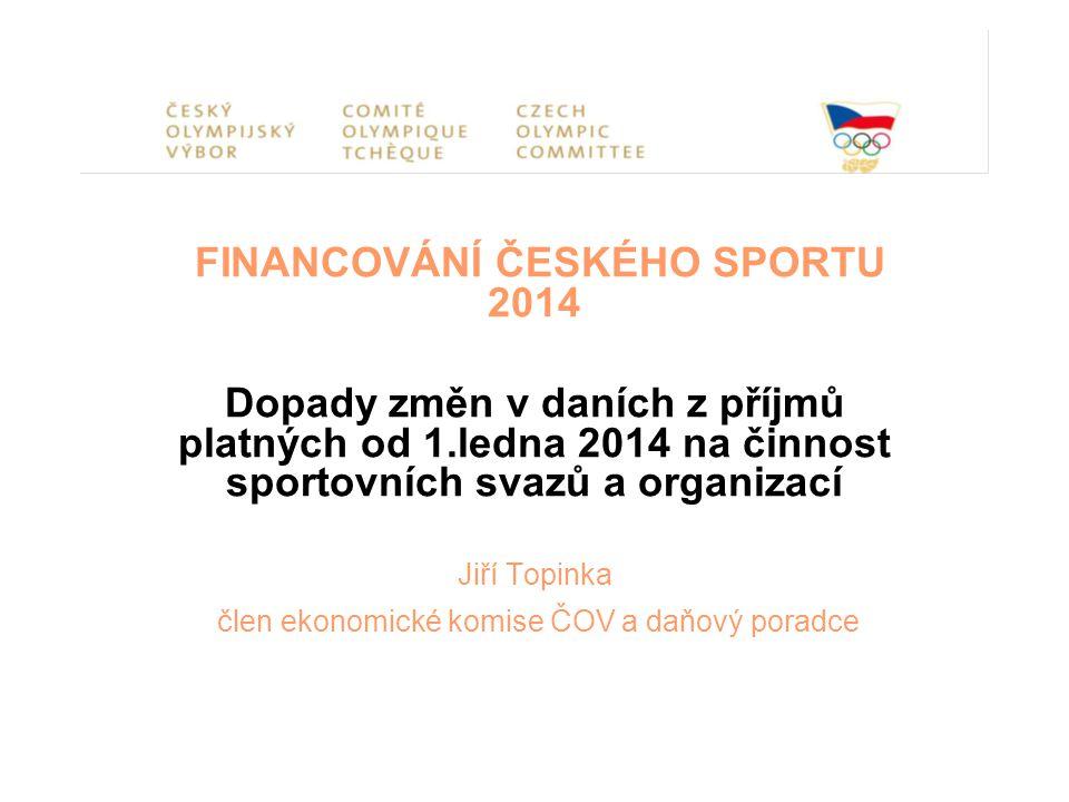 Nová legislativa od roku 2014 Zákon č.89/2012 Sb.