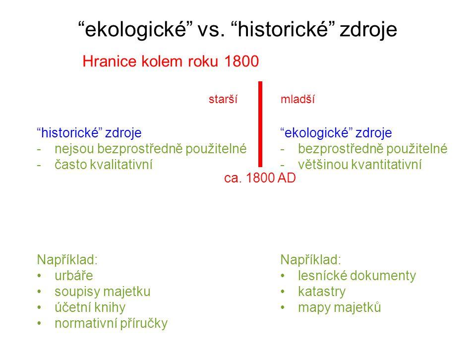 dubohabřiny Od pařezin k vysokému lesu opakované fytocenologické snímky V.