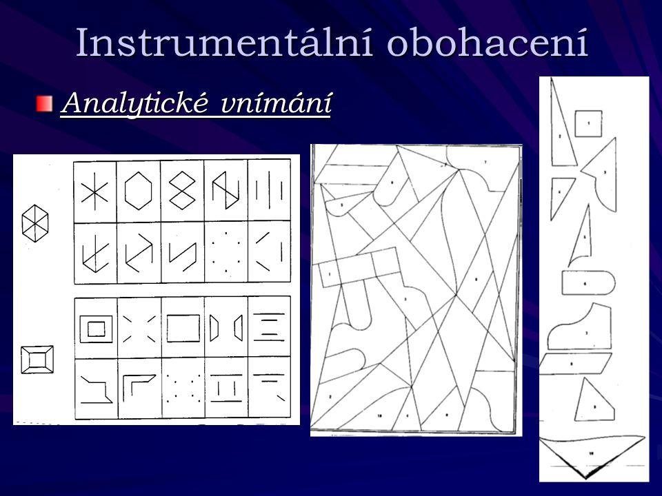 Instrumentální obohacení Analytické vnímání
