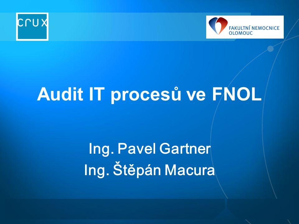 Program Stav ICT ve FNOL Crux ITIL audit