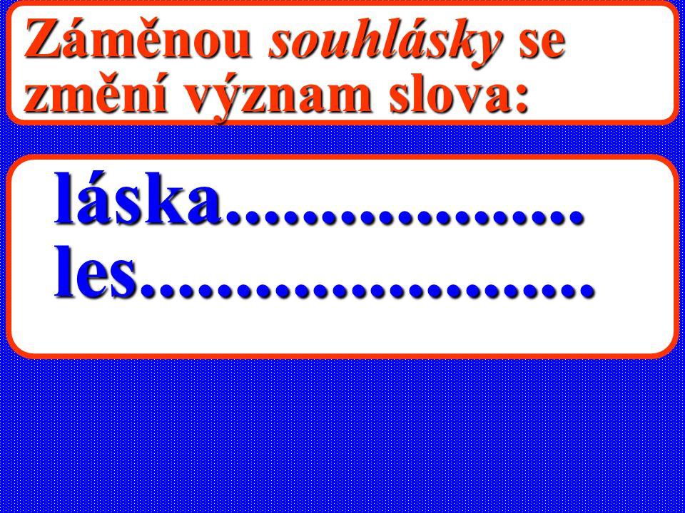 SOUHLÁSKY v češtině 25 souhlásek b,c,č,d,ď,f,g,h,ch,j,k,l, m,ň,ň,p,r,ř,s,š,t,ť,v,z,ž ch = c + h - spřežka xgw x, g, w - v přejatých slovech