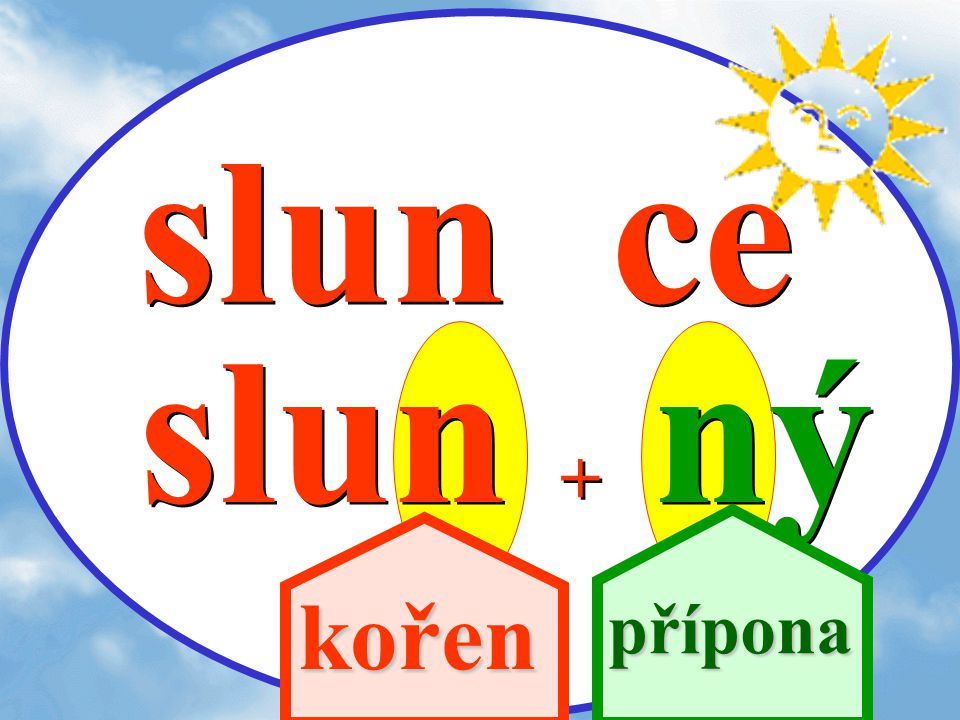 slunce slunný nn