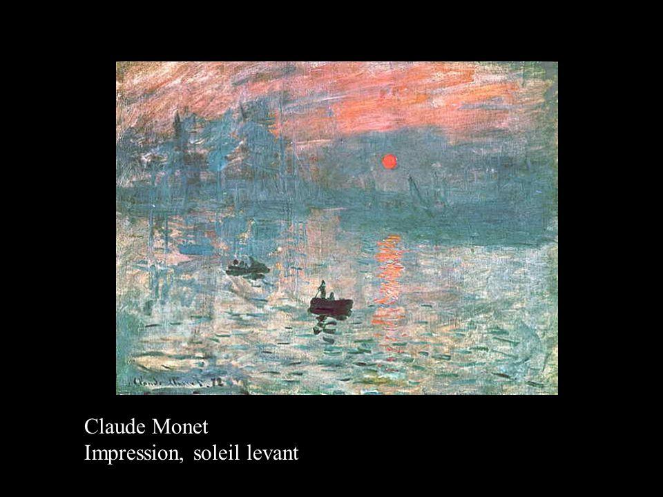 Claude Monet Impression, soleil levant