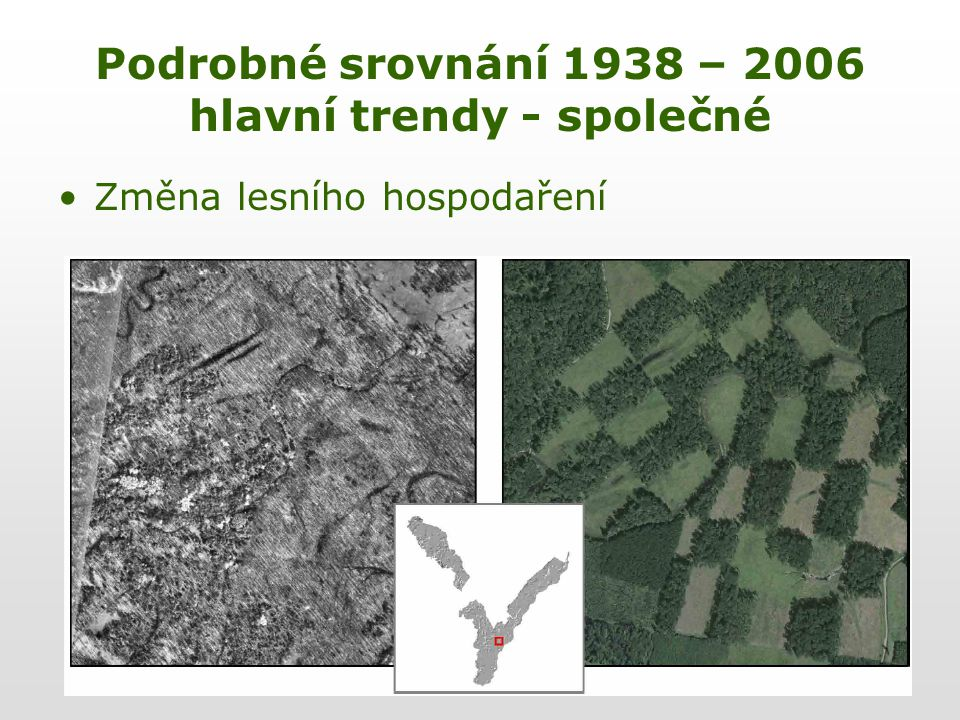 Změna lesního hospodaření