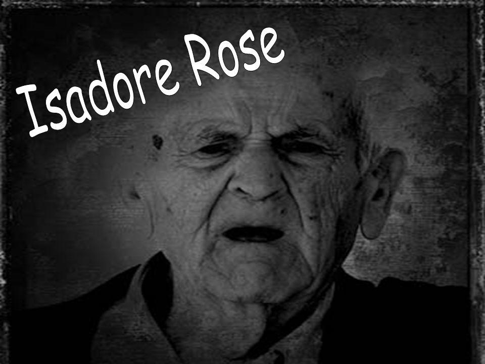 ISADORE ROSE - záznam z dokumentace 4 Březen 1962 - zapsán do centra denní péče : Je mírně zmatený, kontinentní.