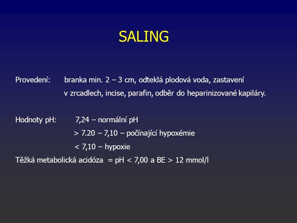 SALING Provedení: branka min.