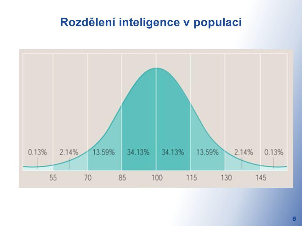 Rozdělení inteligence v populaci 5