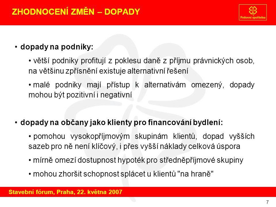 8 ČAS NA DISKUSI děkuji za pozornost těším se na komentáře a diskusi Stavební fórum, Praha, 22.