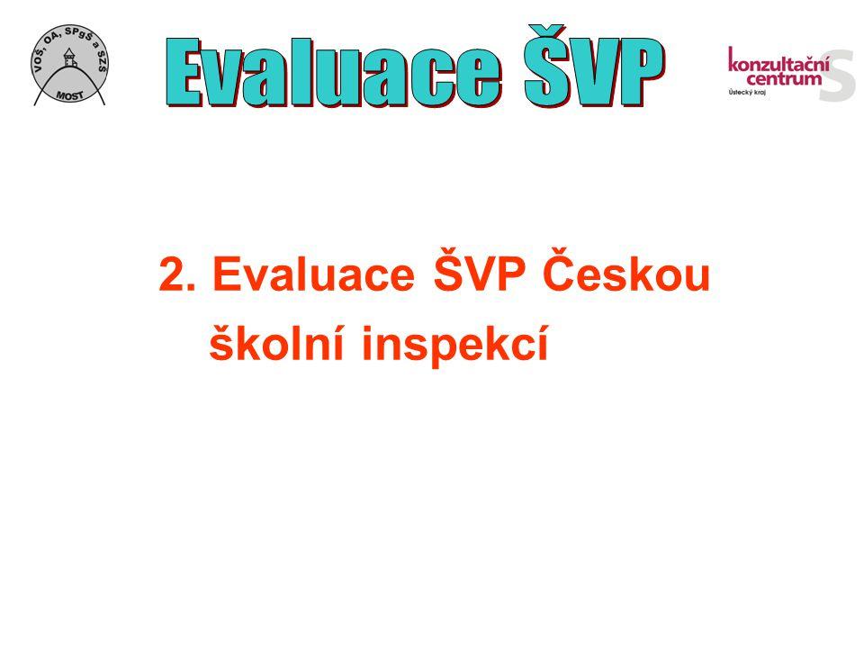 2. Evaluace ŠVP Českou školní inspekcí