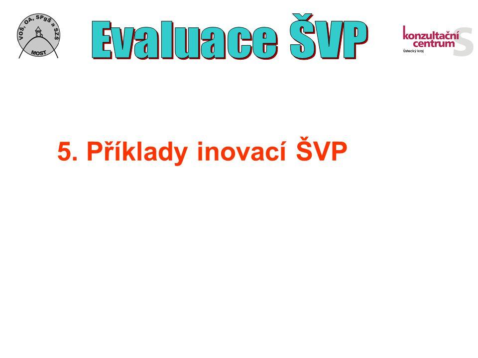 5. Příklady inovací ŠVP