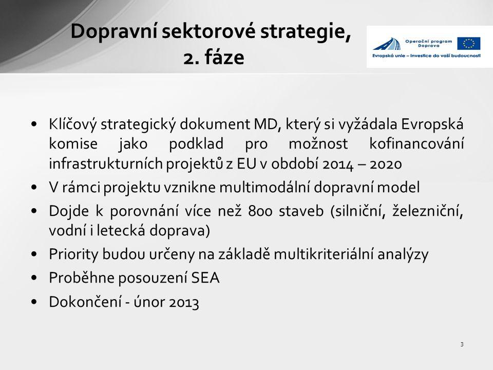 4 Financování v období 2014 – 2020 Předpokládají se 3 zásadní zdroje EU pro kofinancování v tomto období + bude nutné zajistit kofinancování ze státního rozpočtu 1.