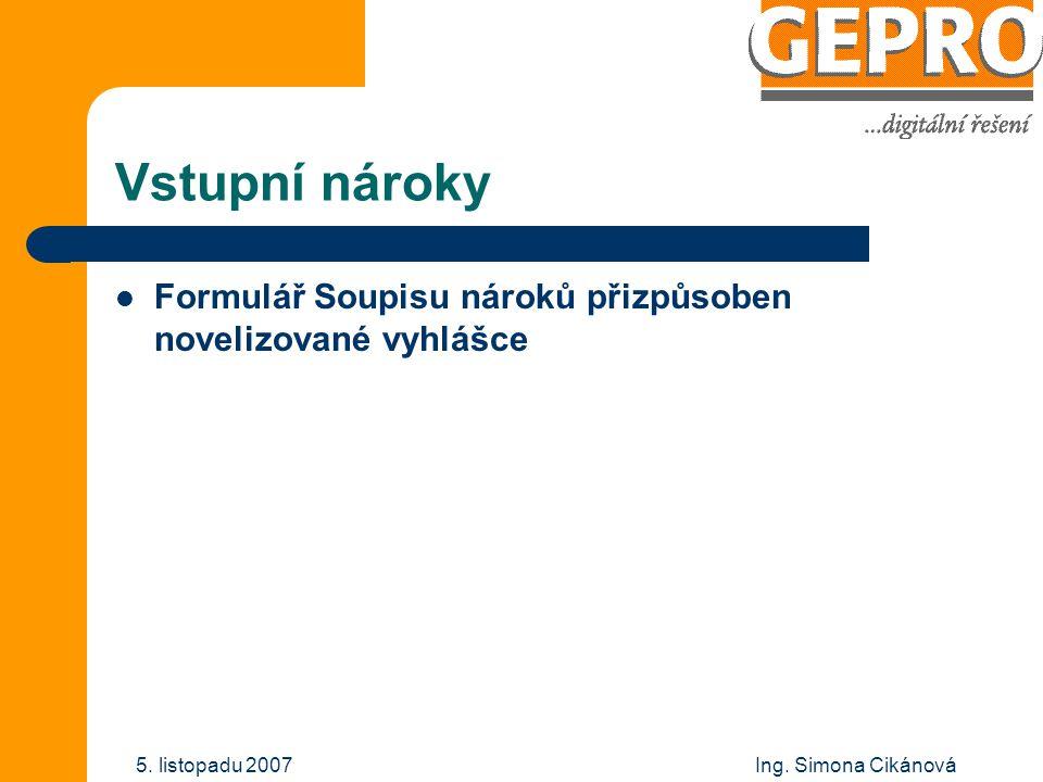 Ing.Simona Cikánová 5.