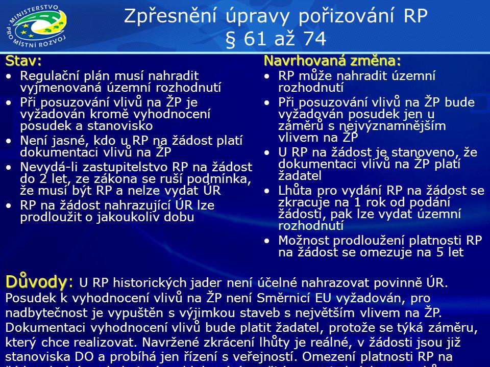 13 Postupy při posuzování vlivů na ŽP a NATURA (§§ viz.