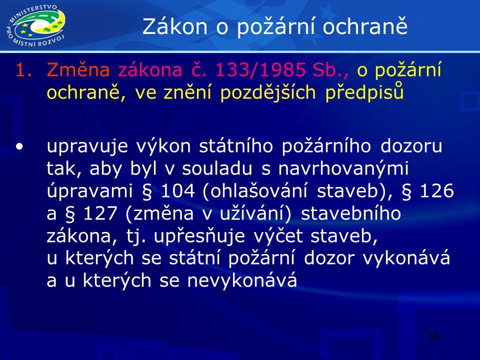 39 Horní zákon 2.Změna zákona č.