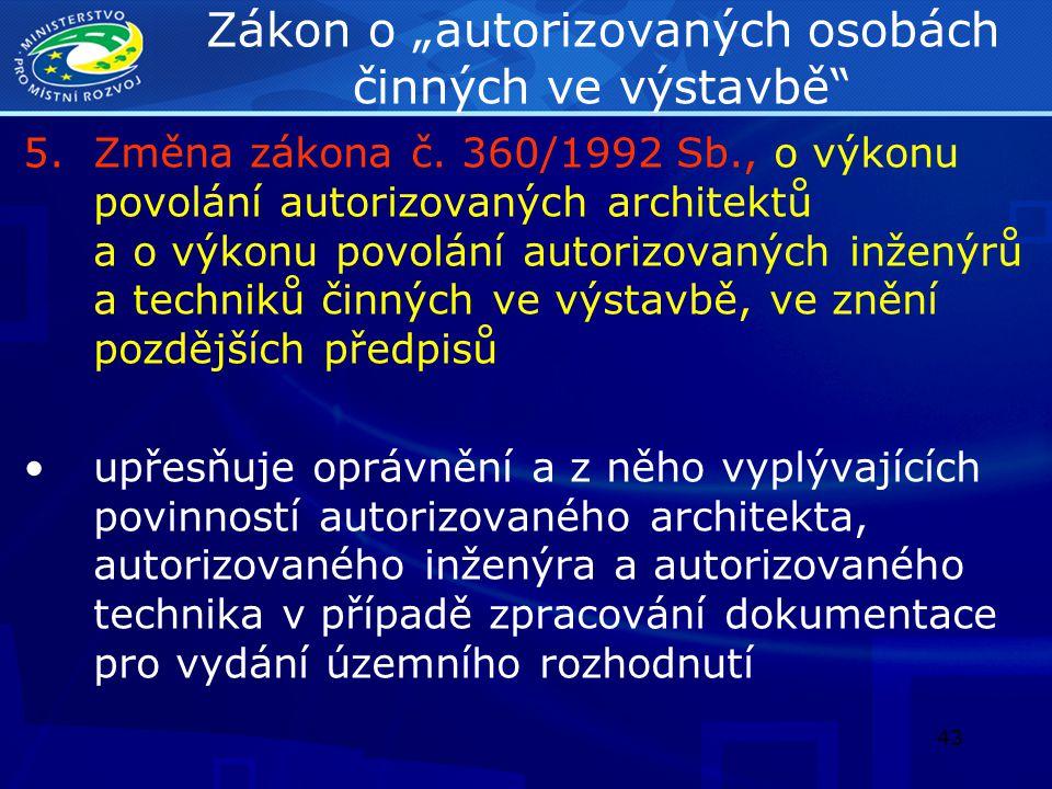 44 Zákon o zeměměřictví 6.Změna zákona č.