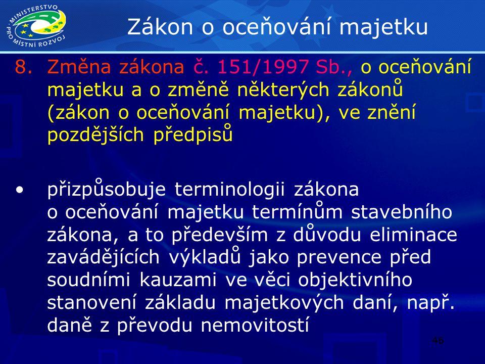 47 Zákon o hlavním městě Praze 9.Změna zákona č.