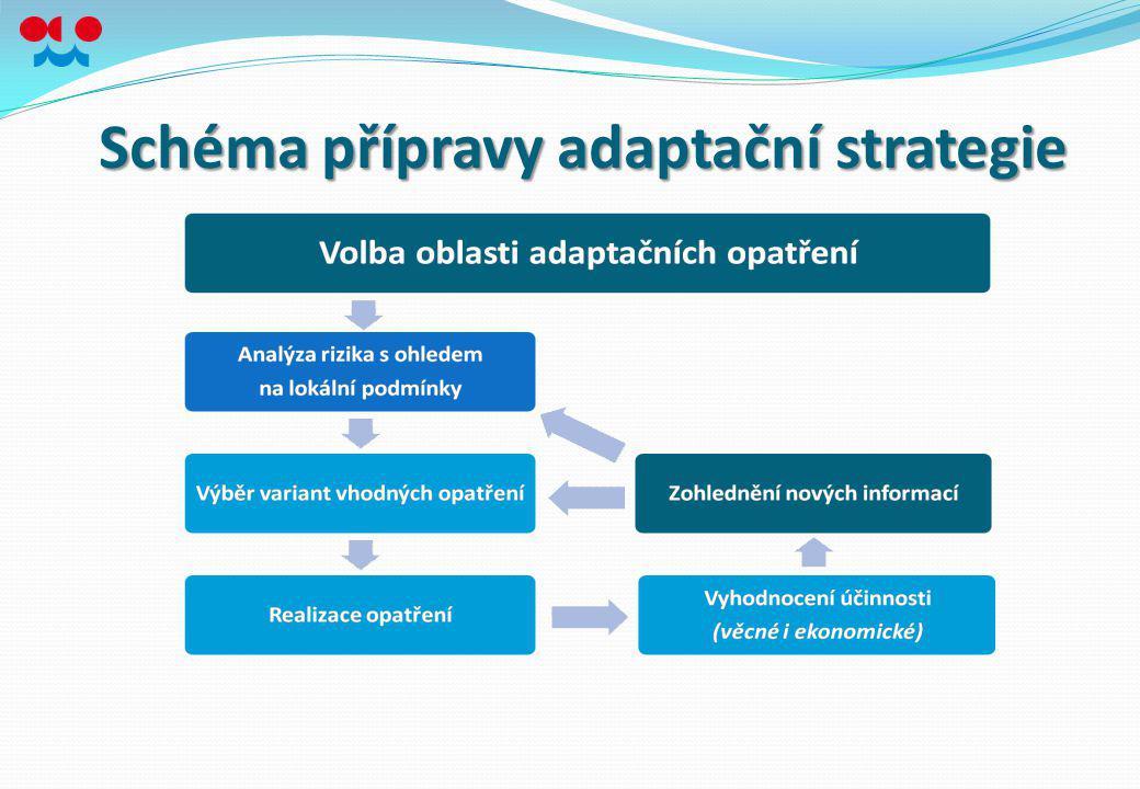 Schéma přípravy adaptační strategie