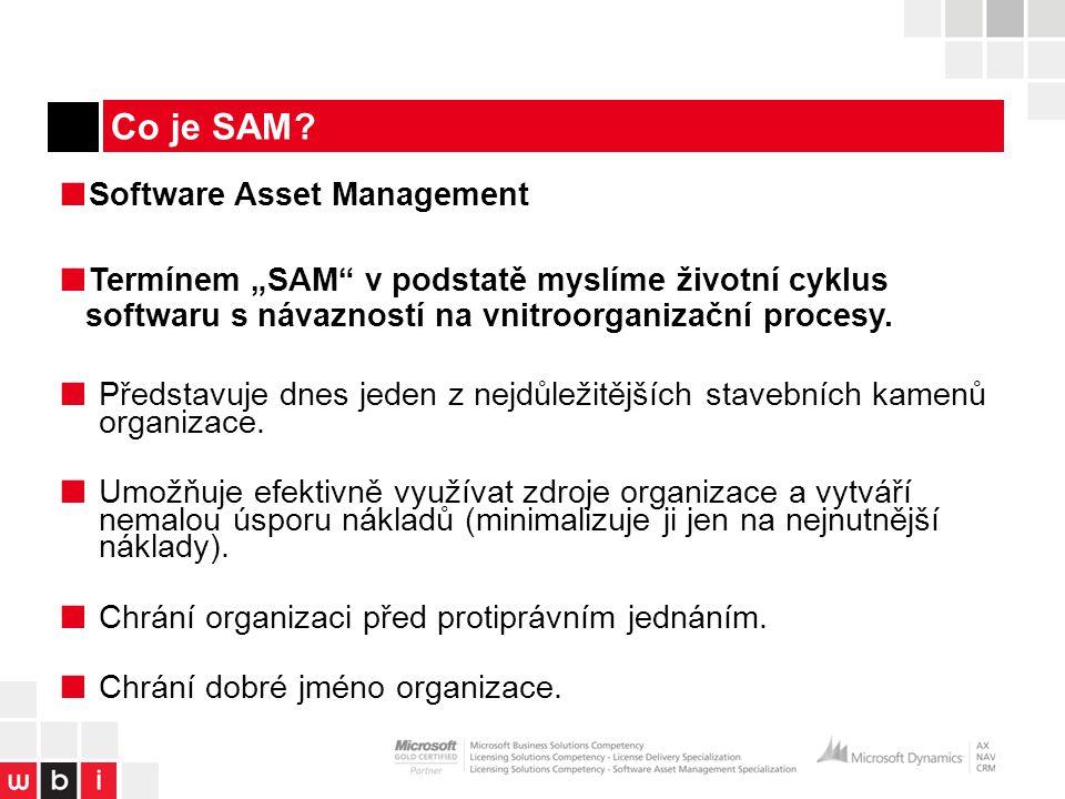 Proces provozního řízení a integrace správy majetku SAM.