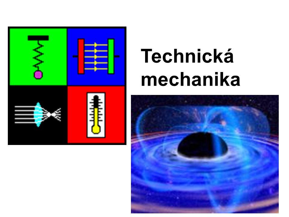Mechanika tuhých těles Statika Síla, silová soustava