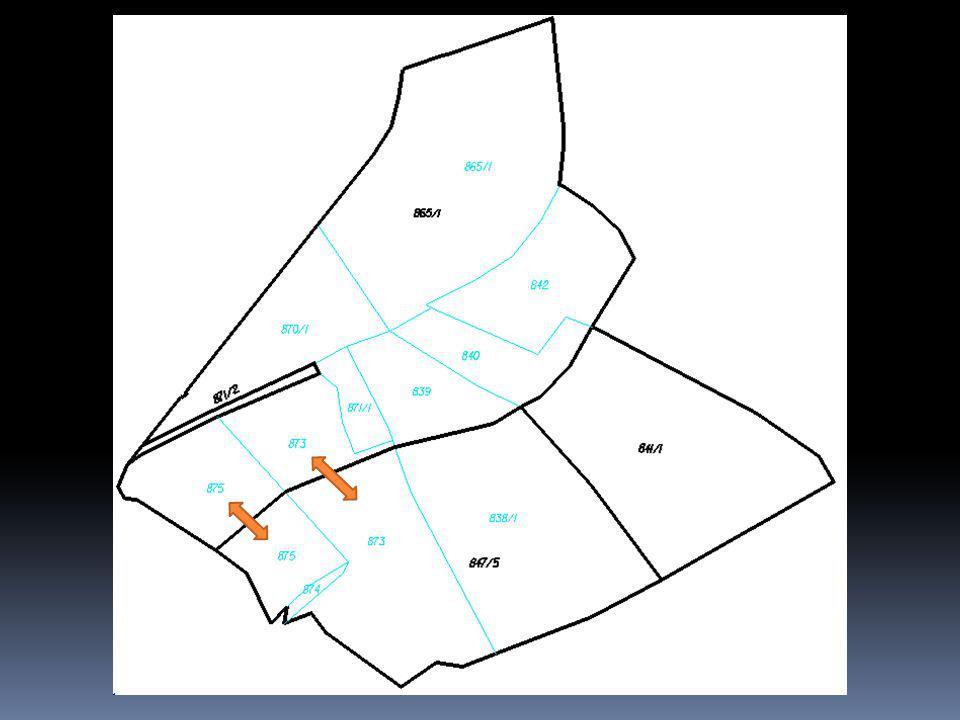 Obnova mapováním  Stavby  Zrušena možnost zaměření staveb, které vlastník doloží listinami v rámci zjišťování průběhu hranic  Vlastník vyzván k doložení listin a geometrického plánu v případě  nových staveb (popřípadě změn obvodů již evidovaných staveb), které jsou hlavní stavbou na pozemku),  které jsou hlavní stavbou na pozemku